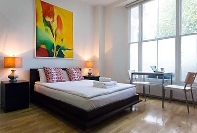 Apartments for one or two in Bayswater, London
